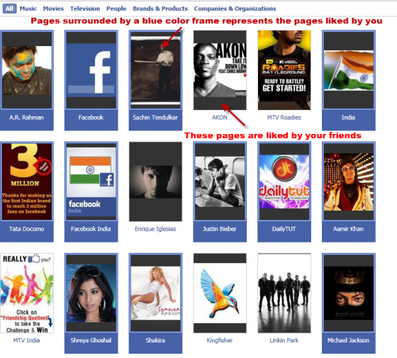 HOW TO: View Facebook Pages that You and Your Friends Liked ?