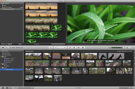 111 560x368 15 Movie Editing Applications for Mac OS X