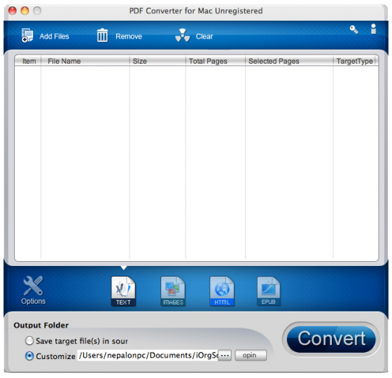Best PDF Document, Image and Video Converters for Mac OS X
