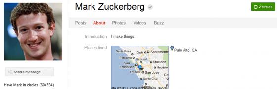 Mark Zuckerberg 560x181 Google Plus 20+ Must Follow Personalities to Transform your Stream to Amazing