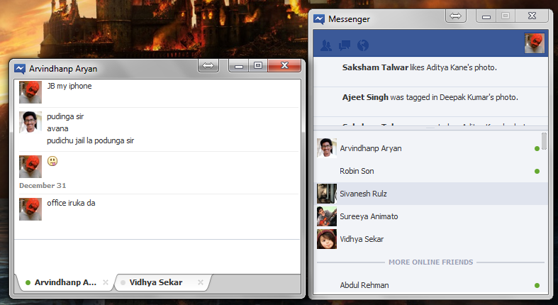 Facebook Messenger for Windows with Multiple Tabs [Leaked]