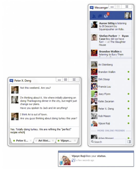 free  of facebook messenger for pc