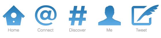 new twitter design 2011