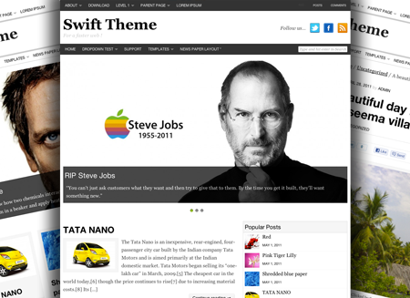 swift premium theme