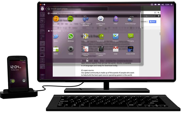 ubuntu android app