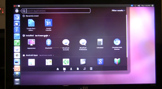 ubuntu android apps
