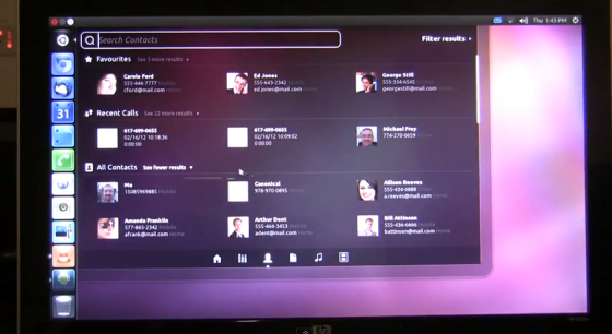 ubuntu android contacts