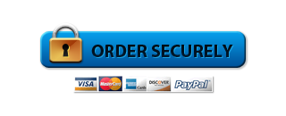 Order Securely - Button Blue
