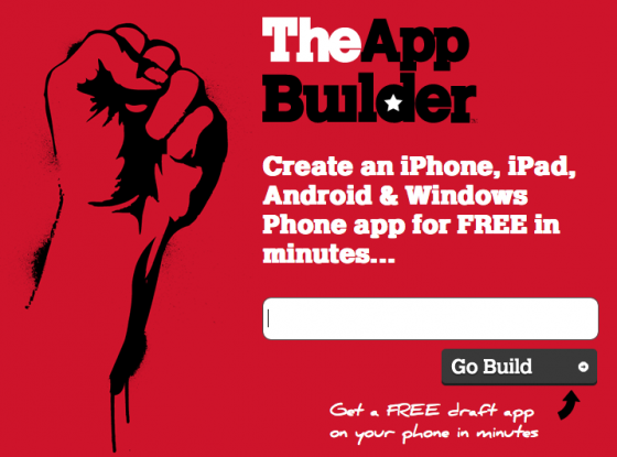 TheAppBuilder: Create Free iPhone, Android and Windows App