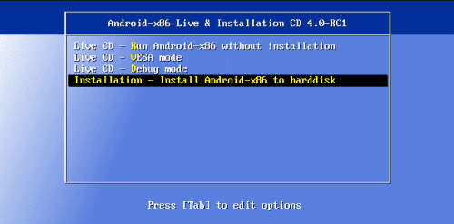 android installation