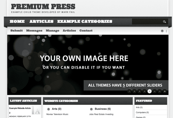 premiumpress child theme