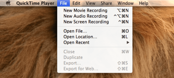 quicktime screen recorder