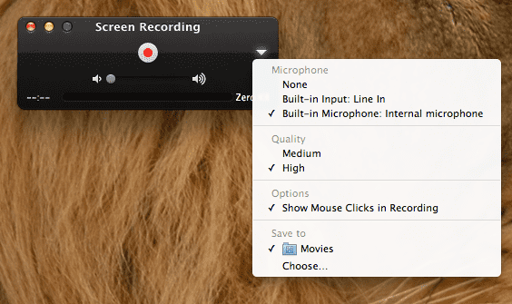 quicktime screen recording app