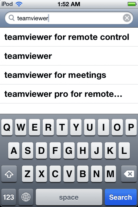 teamviewer search
