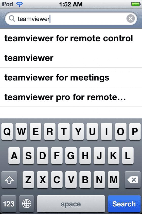 teamviewer search