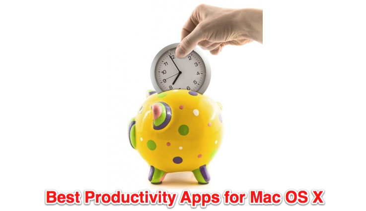 5 Best Productivity Apps for Mac OS X
