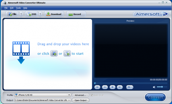 aimersoft 1 560x340 Aimersoft Video Converter Ultimate for Windows and Mac OS