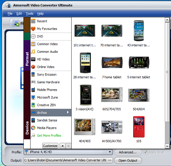 aimersoft 4 Aimersoft Video Converter Ultimate for Windows and Mac OS