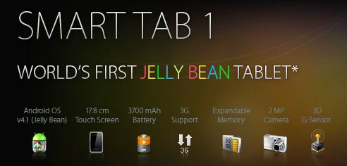 android jelly bean tablet