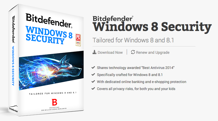 Bitdefender Windows 8 Security Review
