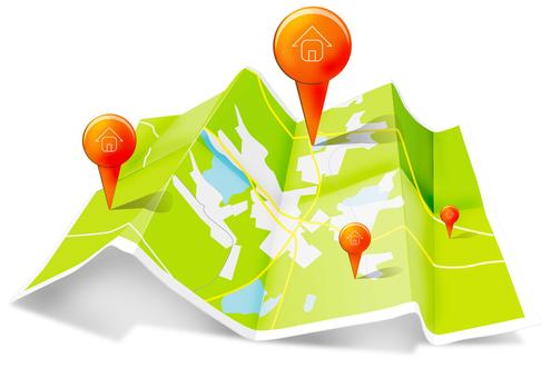geo target map
