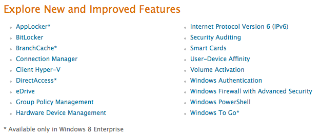 windows8 enterprise