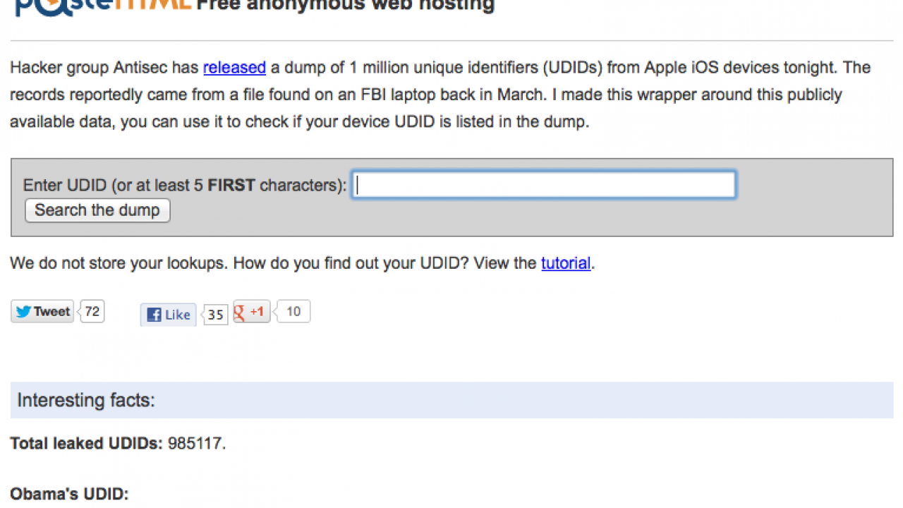 HOW TO: Check Your UDID Was Compromised or Not ?