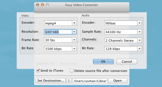 Easy-Video-Converter-settings