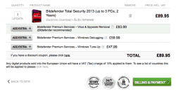 Bitdefender Total Security 2013, Get Free Extra Year License
