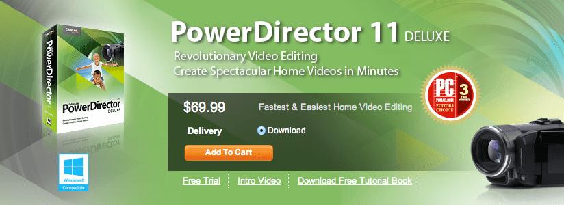 cyberlink powerdirector 11 free download with serial number