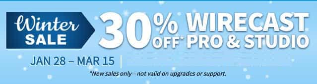 wirecast discount offers
