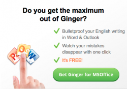 Ginger Spell Checker and Grammar Checker for Writers