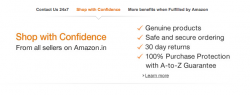 Amazon.in Getting Dressed for Online Shopping in India