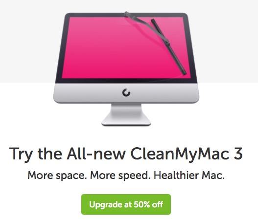 cleanmymac discount coupon upgrade