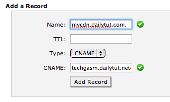 cpanel cname record How to Setup MaxCDN on Your Wordpress Blog ?