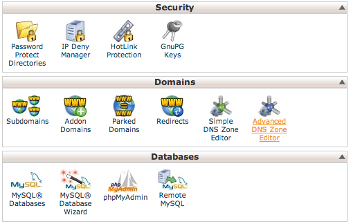 cpanel-cname-settings