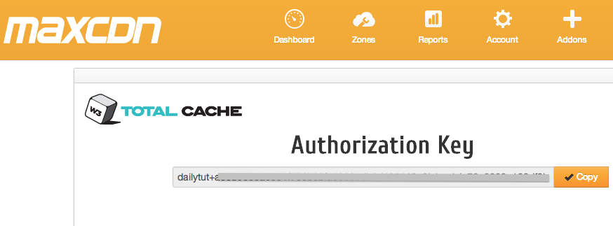 maxcdn-authorization-key