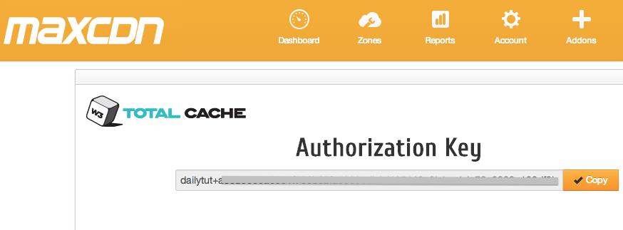 maxcdn-authorization-key