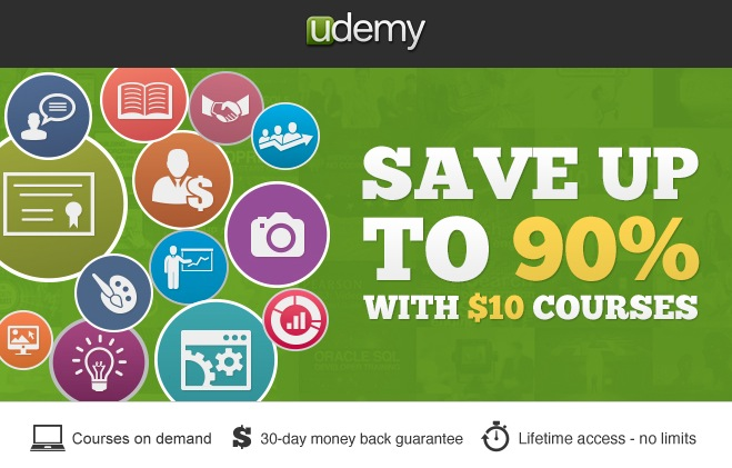 Udemy wants you to be satisfied, so all courses purchased in their site can be Top Brands & Savings · + Coupons Available · New Offers Added Daily.