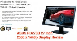 Asus PB278Q Review, Best Apple Thunderbolt Display Alternative