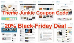 Theme Junkie 20% Coupon Code Black Friday Deals