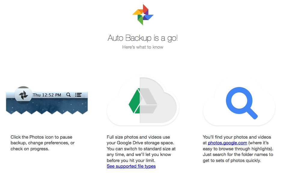 google plus auto backup last HOW TO: Auto Backup Photos and Media to Google+ in Windows or Mac OS ?
