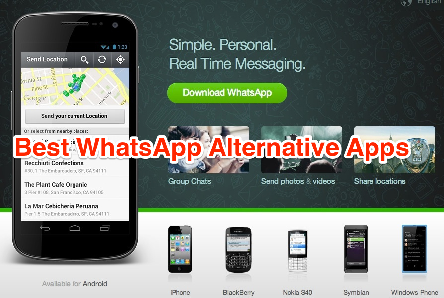 Whatsapp download karo jio mobile