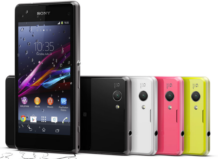 sony xperia z1 compact 10 Best High End Smartphones to Buy