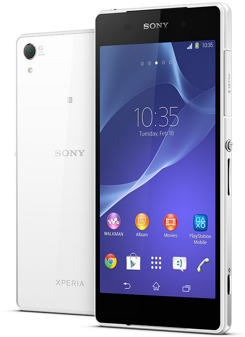 sony xperia z2 10 Best High End Smartphones to Buy