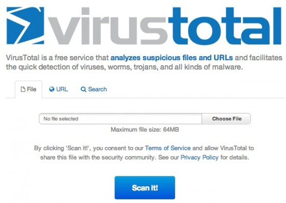 virustotal-uploader
