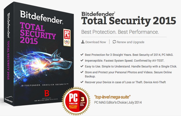 Bitdefender Total Security 2015 Review