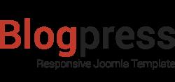 Blogpress, Free Responsive Joomla Template