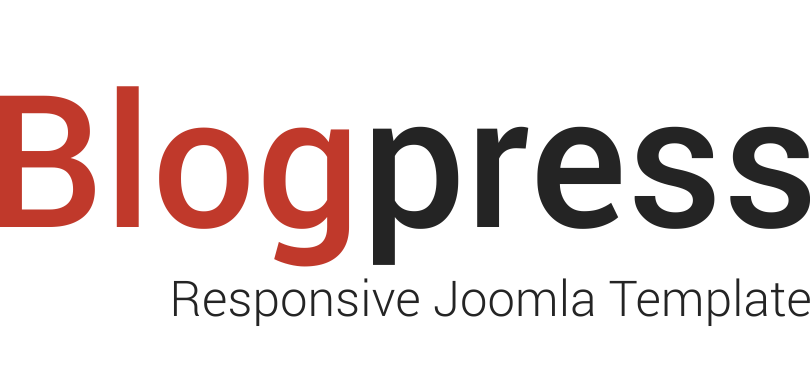blogpress-joomla-template