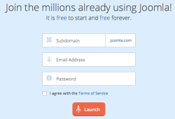 Create Free Joomla Website at Joomla.com